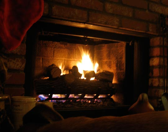 In Front of the Fireplace | Love Letter Daily