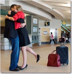airport hug