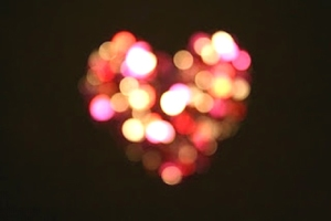 heart of diffussed light