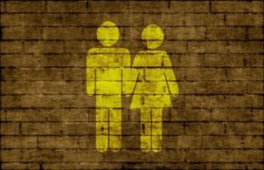 block_couple_brick_wall