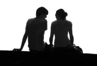 couple-talking-conversation-roxanna-salceda-bw